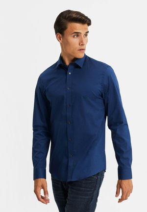 SLIM FIT STRETCH - Camisa - bright blue