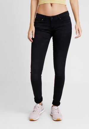 ONLFCORAL - Jeansy Skinny Fit - black denim