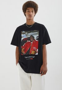 PULL&BEAR - THE NOTORIOUS BIG  - T-shirt con stampa - black - 5