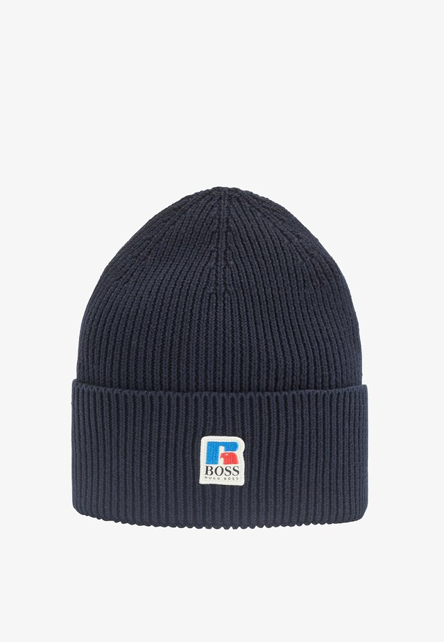 FUSSEL - Bonnet - dark blue