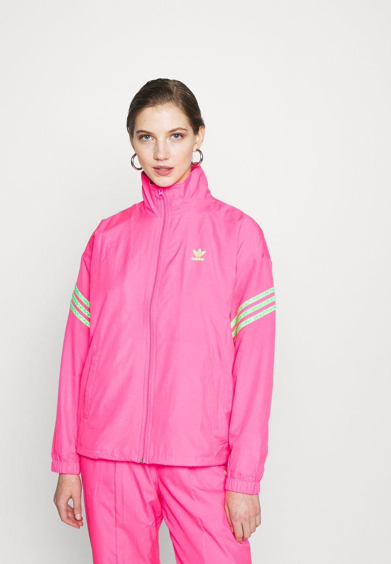 adidas Originals - SWAROVSKI TRACK  - Træningsjakker - solar pink