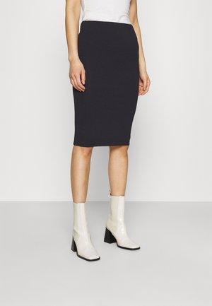 TUTTI  - Pencil skirt - navy noir