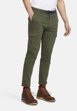 MATT - Cargo trousers - grün