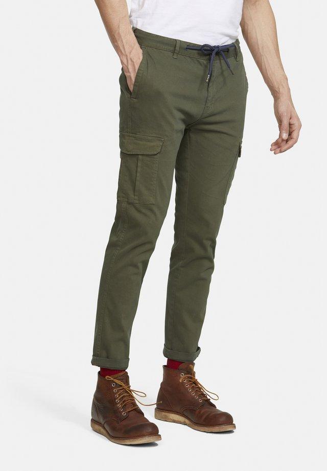 MATT - Pantaloni cargo - grün