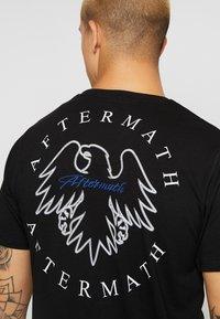 AFTERMATH - TIGER SKULL PRINT - Print T-shirt - black - 5