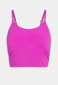 Cotton On Body - STRIKE A POSE YOGA VESTLETTE - Light support sports bra - magenta pop - 4
