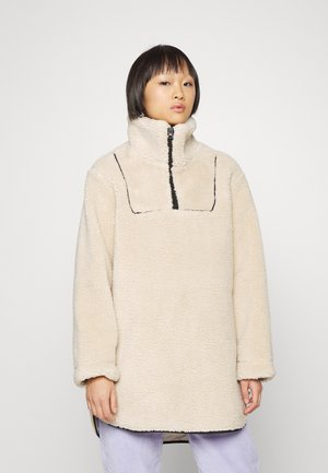 OBJEDEN ANORAK  - Fleece jacket - silver gray