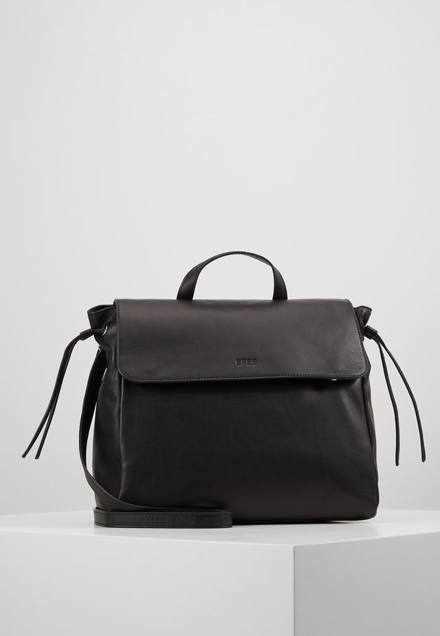 STOCKHOLM 57, BLACK, TOP HANDLE - Håndtasker - black