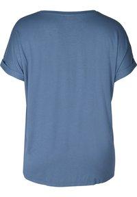 Zizzi - Basic T-shirt - blue - 5