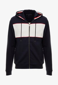 Tommy Hilfiger - CHEST HOODED ZIP THROUGH - Sudadera con cremallera - blue - 4