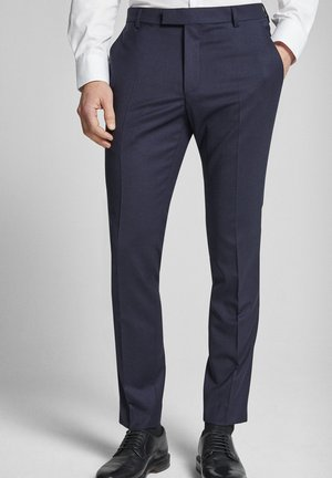 GUN - Suit trousers - dark blue