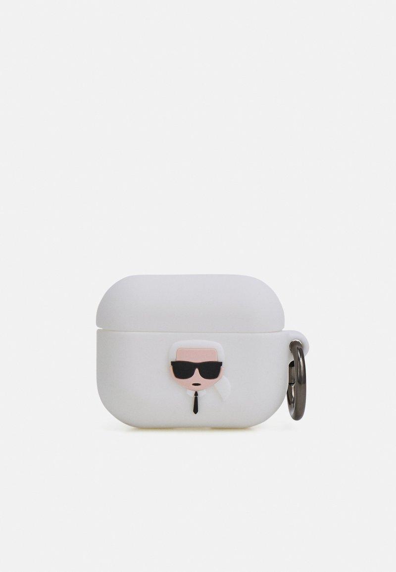 KARL LAGERFELD - IKONIK AIRPODS PRO - Tech-accessoires - white