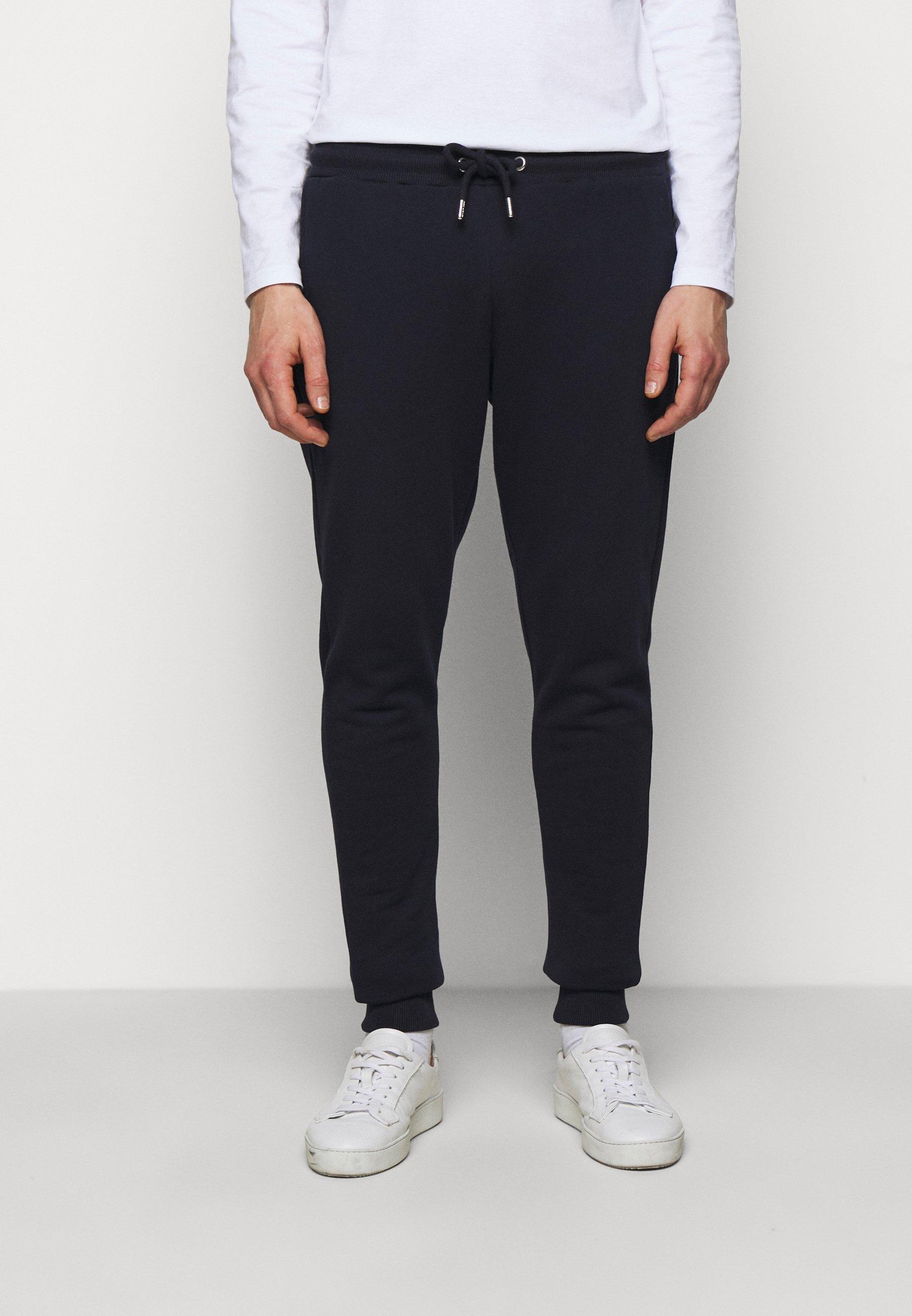 Herren PANTS - Jogginghose - navy/white
