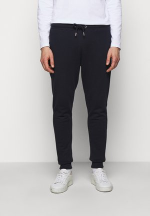 PANTS - Tracksuit bottoms - navy/white