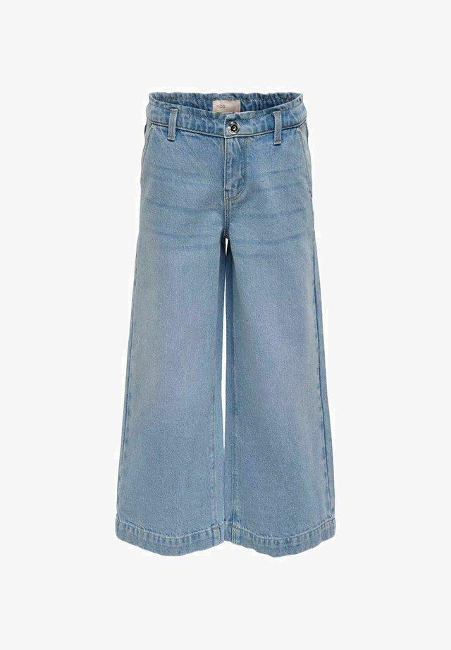 Jean flare - light blue denim