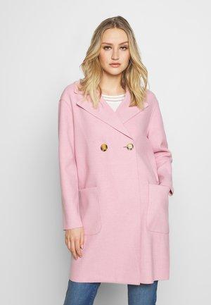 Krátký kabát - dusty lila