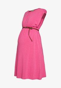 DERYN DRESS - Žerzejové šaty - plum