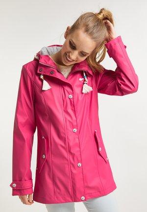 Parka - dunkles pink