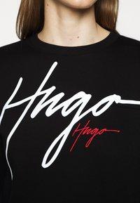 HUGO - NACINIA - Sweatshirt - black - 5