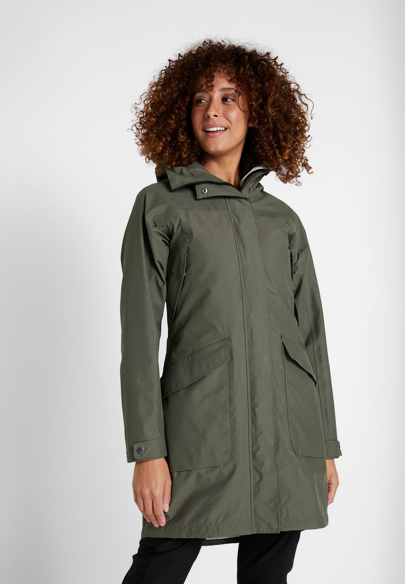 Didriksons - AGNES WOMENS COAT - Parka - dusty olive