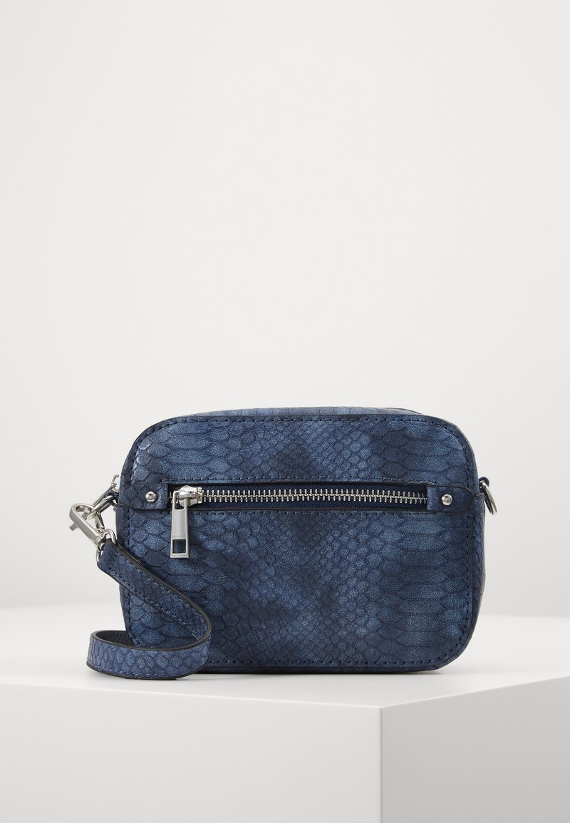 Pieces - PCREP CROSS BODY - Across body bag - maritime blue