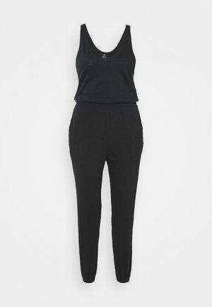 BASIC - Jumpsuit - true black