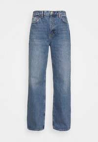 Topshop - Jeansy Relaxed Fit - blue denim - 4