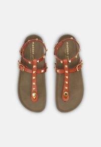 Madden Girl - BARNABY - T-bar sandals - light cognac - 4
