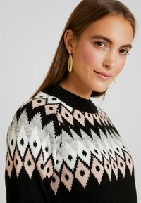 Anna Field - Strickpullover - black - 4