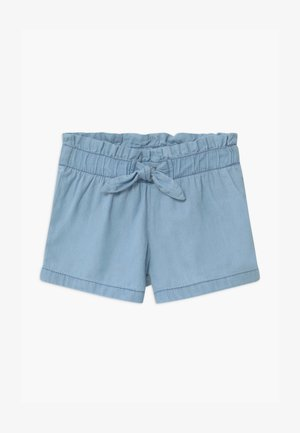 SMALL GIRLS - Denim shorts - hellblau