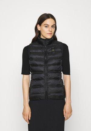 BASIC VEST - Waistcoat - black