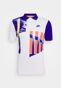 Nike Performance - ADVANTAGE - Polo shirt - white/ultramarine/solar red - 5