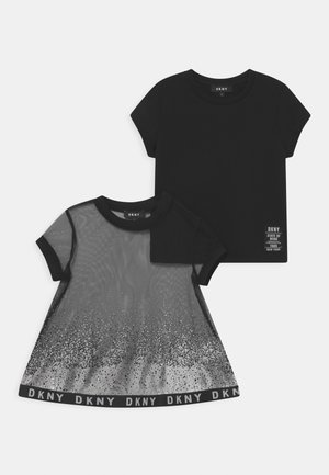 TEE 2-IN-1 - Print T-shirt - black