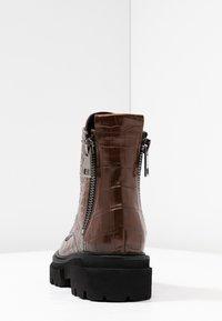 Kennel + Schmenger - BOBBY - Platform ankle boots - cognac - 5