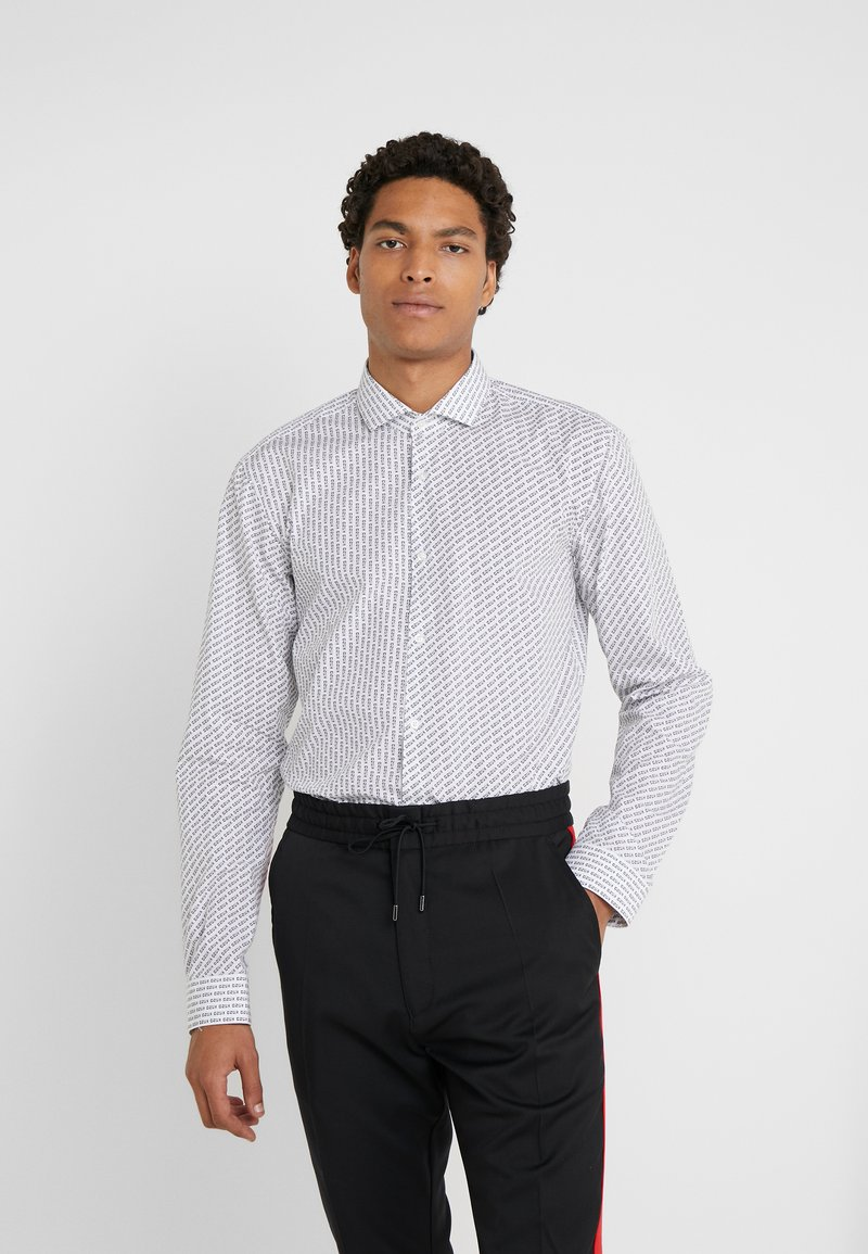HUGO - ERRIKO EXTRA SLIM FIT - Camicia - white