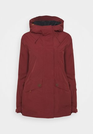 GLADE - Snowboardjacke - oxblood red