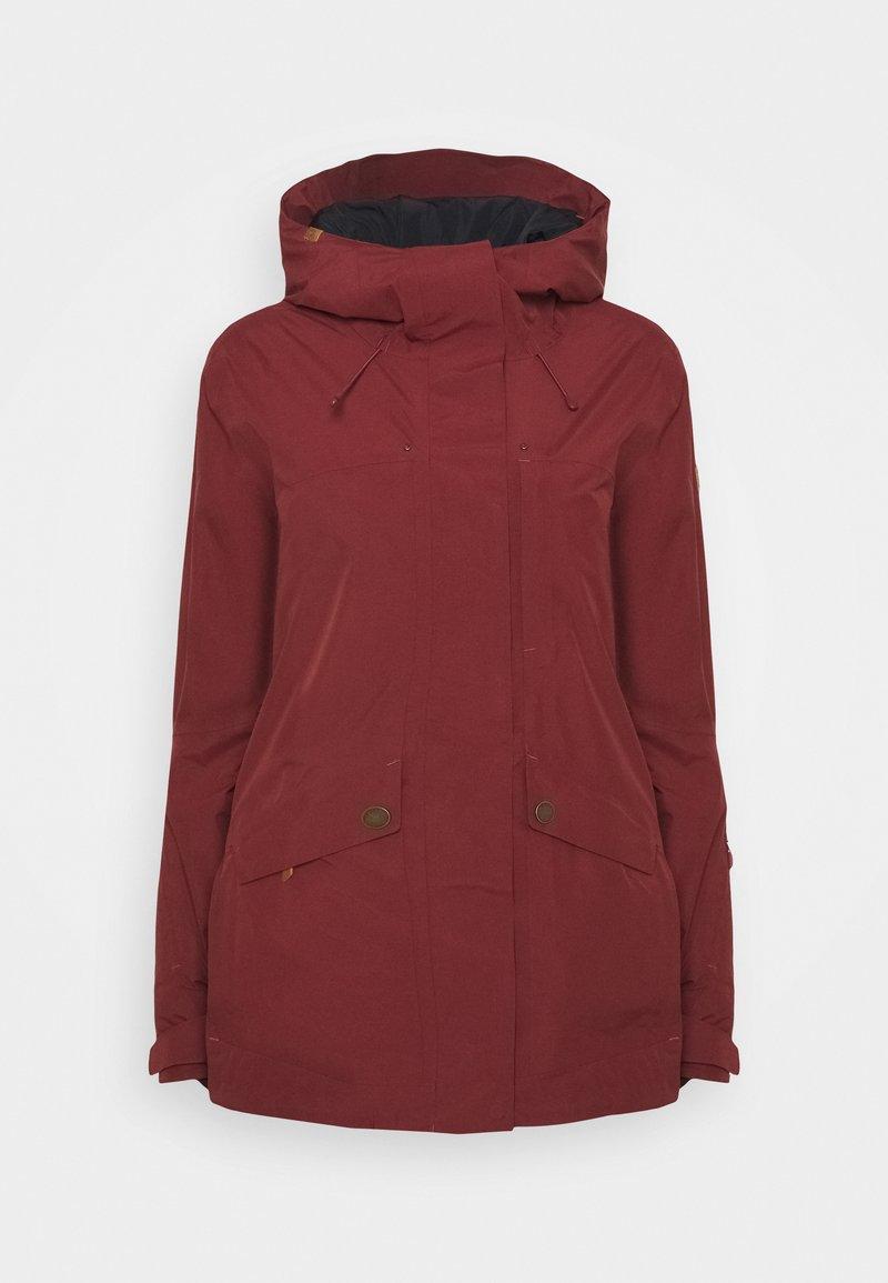Roxy - GLADE - Snowboardjacke - oxblood red