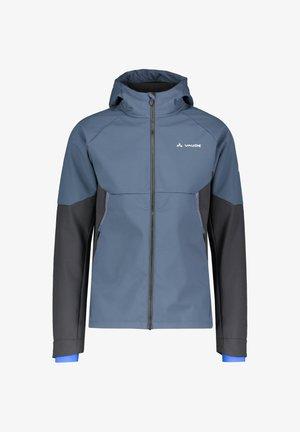 QIMSA - Soft shell jacket - stahlblau
