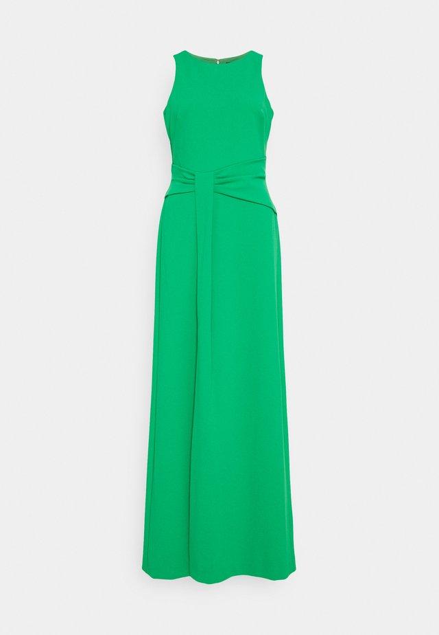 LUXE TECH LONG GOWN - Společenské šaty - stem