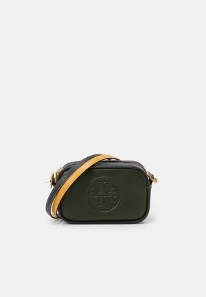PERRY BOMBE DOUBLE STRAP MINI BAG - Bandolera - olive/deep kelp