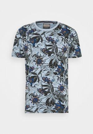 T-shirt print - parott blue