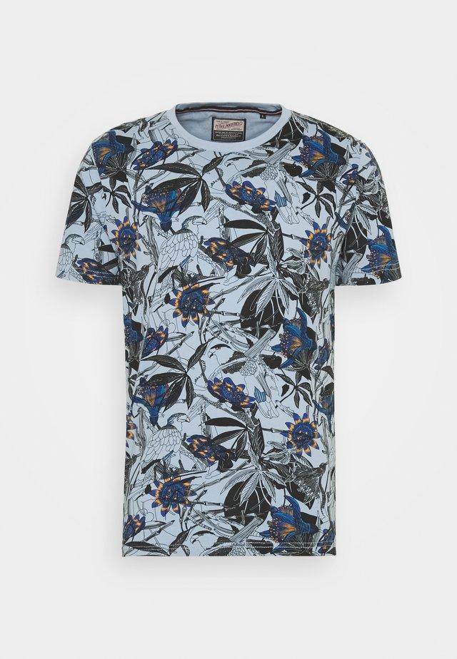 T-shirt imprimé - parott blue