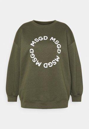 GRAPHIC - Sweatshirt - khaki