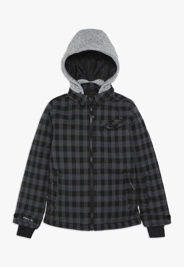 BURCHELL BOYS SNOWJACKET - Snowboard jacket - black