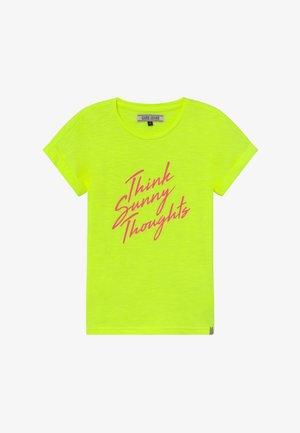 KIDS NIAH - T-shirt z nadrukiem - lime