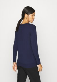 Sisley - Jumper - dark blue - 2