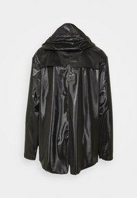 Rains - JACKET UNISEX - Impermeable - shiny black - 7