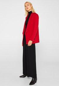 Esprit Collection - MIT NEUEM SMOKING - Blazer - dark red - 1