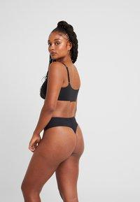 Calvin Klein Underwear - LINED BRALETTE RETRO - Bustier - black - 2