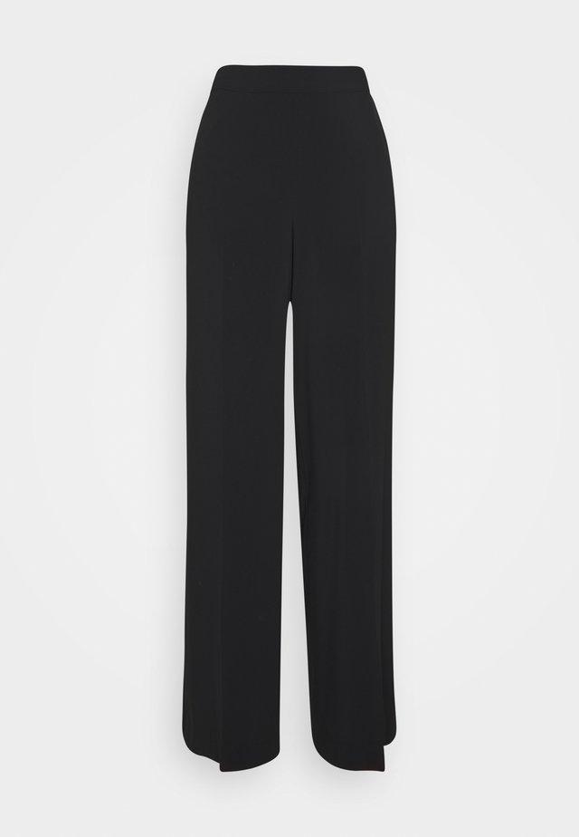 EDDA - Pantalon classique - black